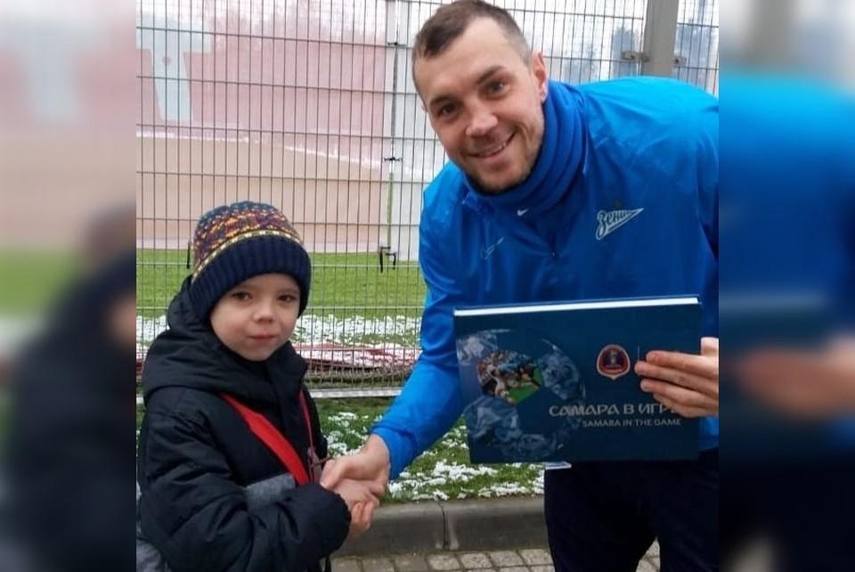 Дмитрий Тулгаев исполнил мечту и встретился с Дзюбой
