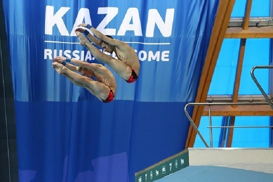 Путевки на Игры были распределены, исходя из результатов чемпионата России по прыжкам в воду, который в эти дни проходит в Казани.