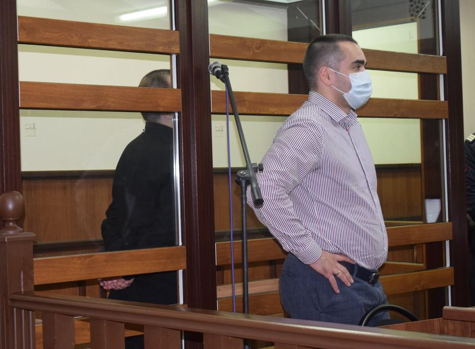 Фото из зала суда при вынесении приговора Асатряну