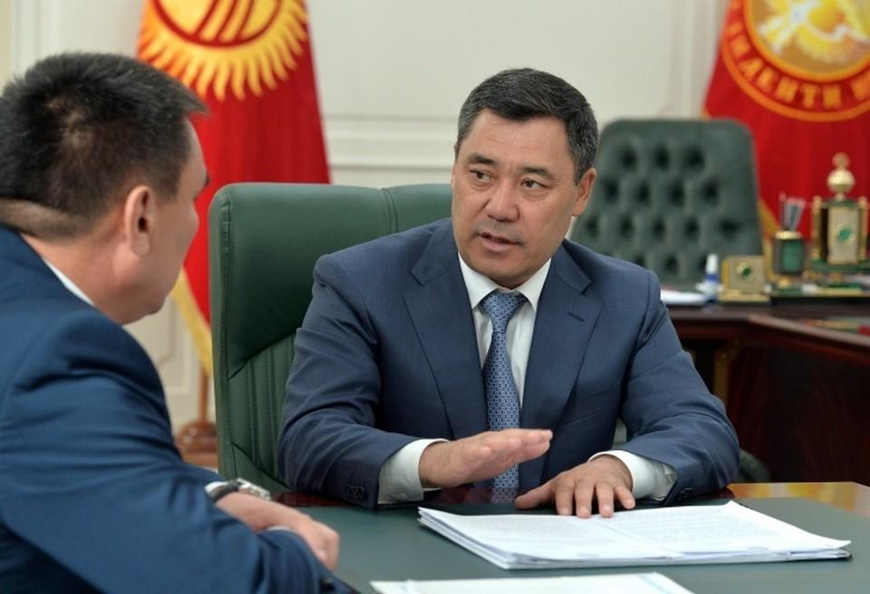 Жапаров встретился с мэром Оша.
