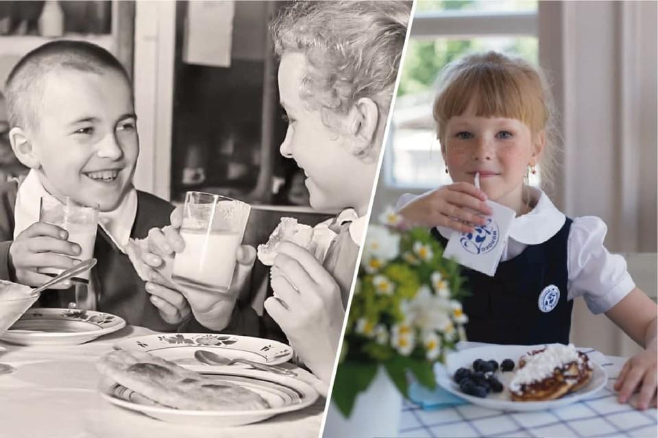 Во время учебы дети соблюдали определенный режим и регулярно получали молоко. Фото из архива НКО СОЮЗ «ЗДОРОВЬЕ НАШИХ ДЕТЕЙ».