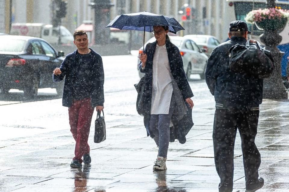В Новосибирск придут дожди и холодный ветер.