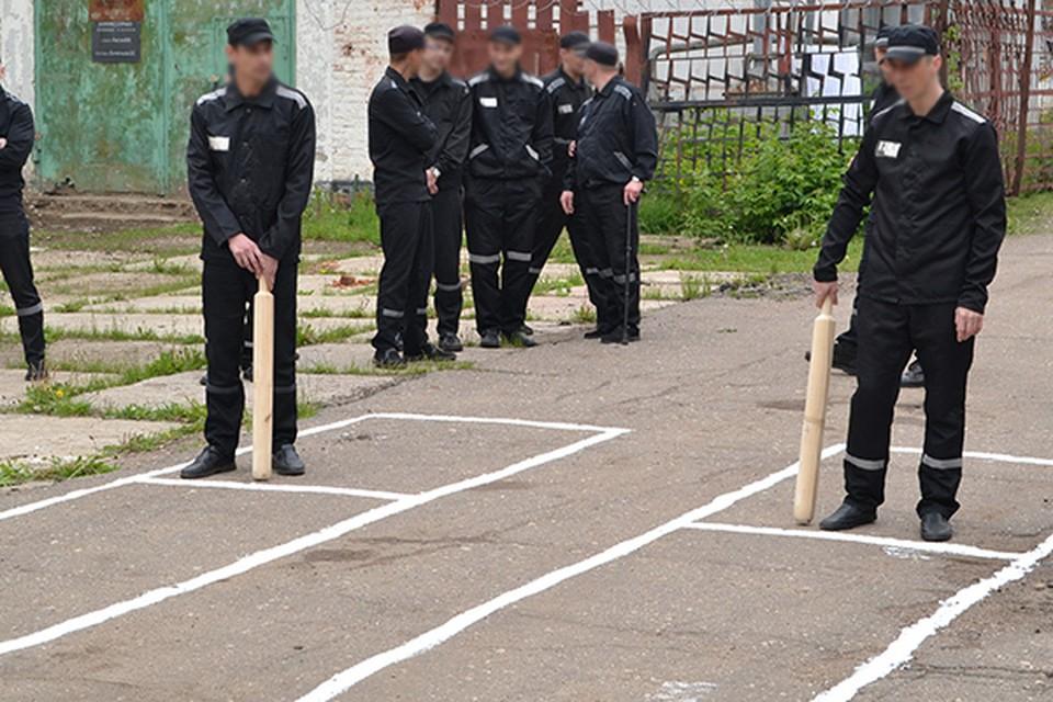 В Тульской области заключенные исправительных колоний выявляли лучших в игре в городки