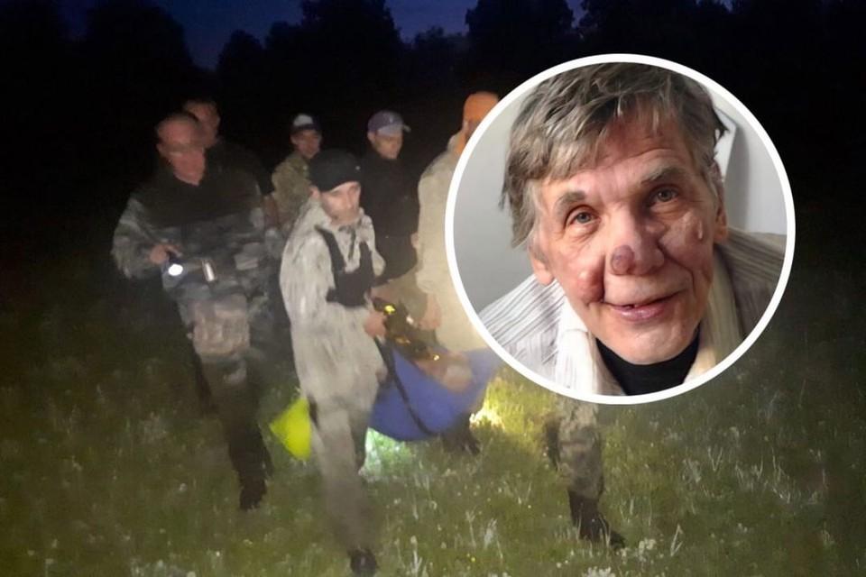 Поисковики спасли пенсионера, потерявшегося в лесу. Фото: предоставлено Алесей Яблонских