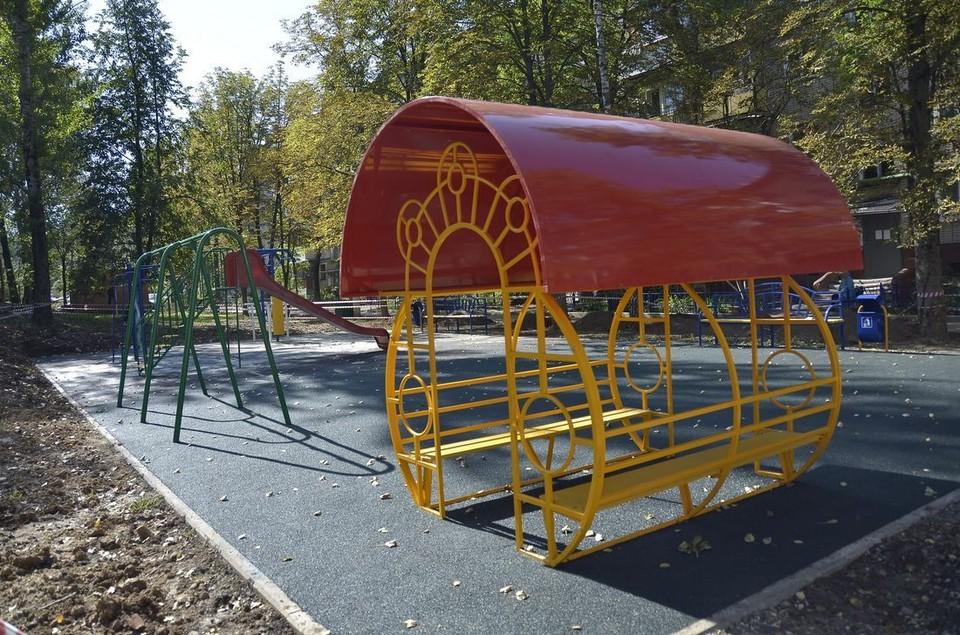 Где в Туле появятся новые детские площадки: список адресов