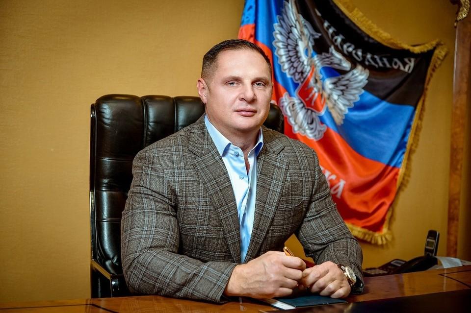Учредитель компании «Атлант-Донбасс» Руслан Богданов. Фото: Николай ИВАНОВ