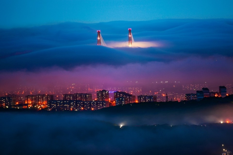 Фотография «Волшебный туман» победила в номинации «Пейзаж». Фото: Юрий Смитюк