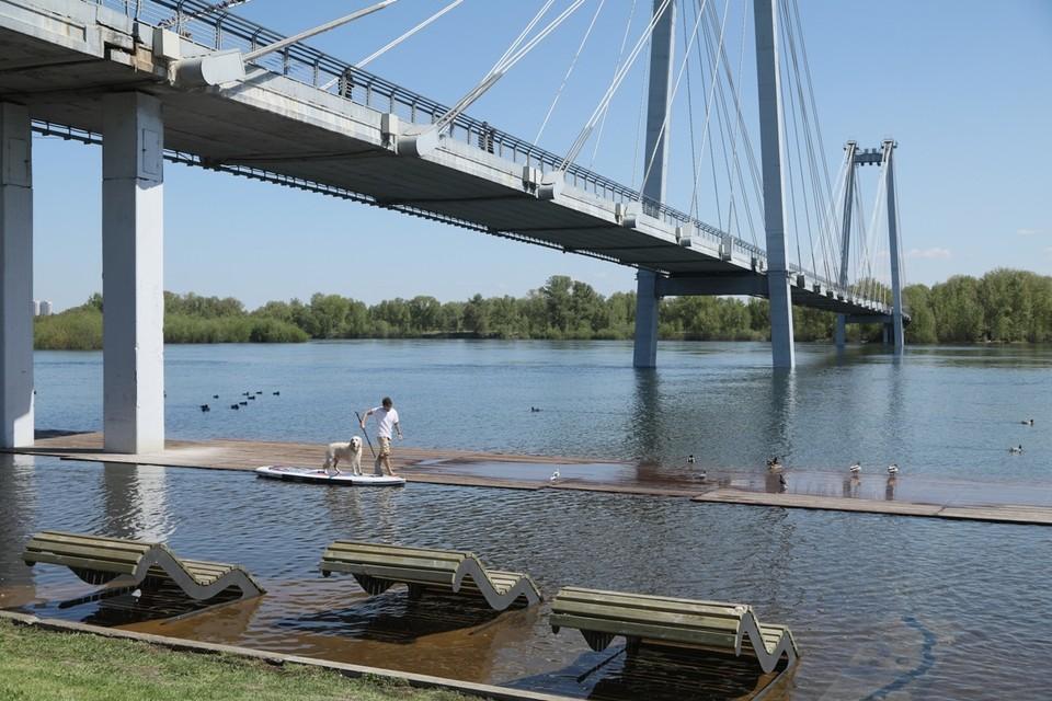 Зоны паводков на 4 июня в Красноярске 2021: набережные Енисея, затопления участков, сброс воды на ГЭС