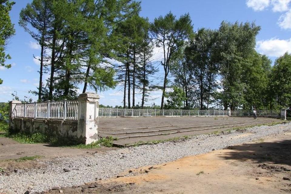 В Рыбинске начали благоустраивать Волжский парк