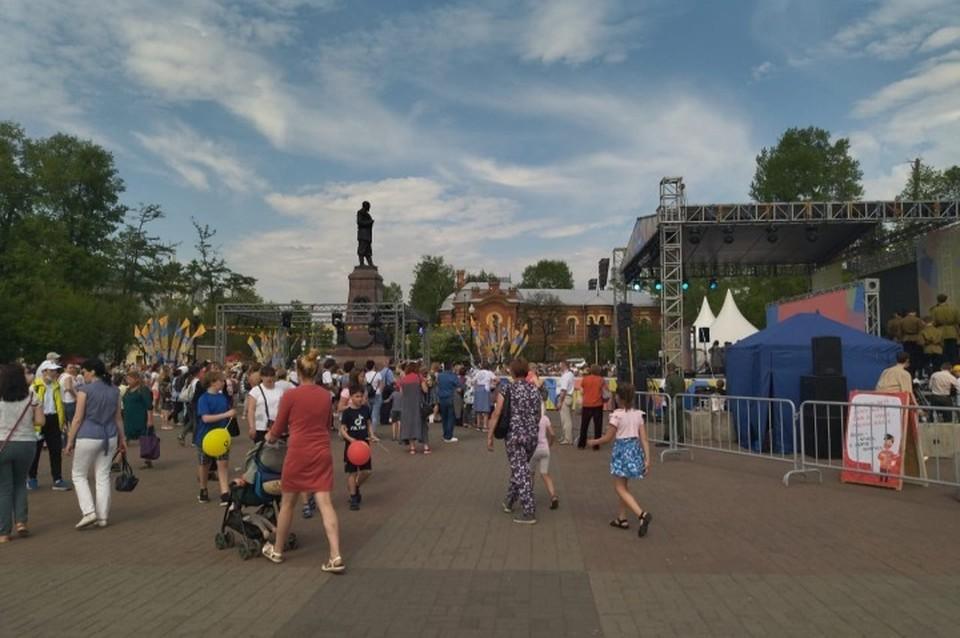 День города отмечают в Иркутске.