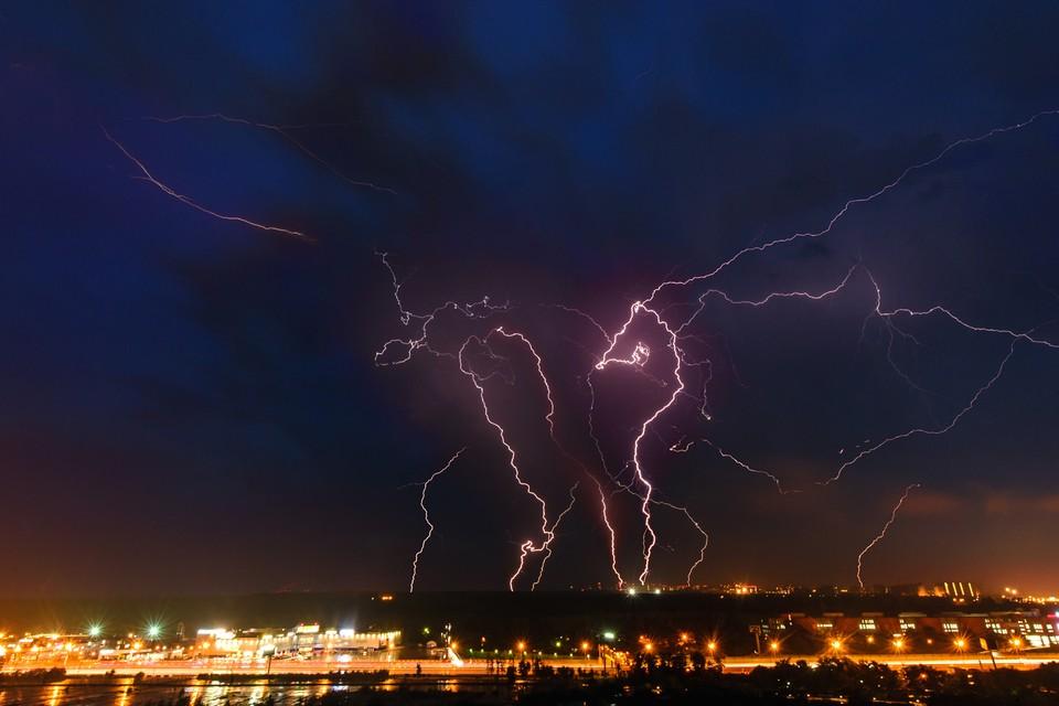 6 июня в Брянской области ожидают кратковременные дожди с грозами и порывистый ветер.
