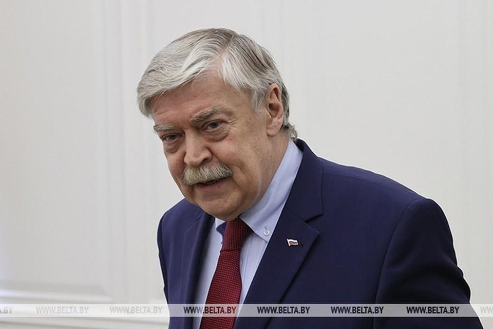 Посол России в Беларуси Евгений Лукьянов заявил, что белорусская продукция – это цена и качество. Фото: БелТА