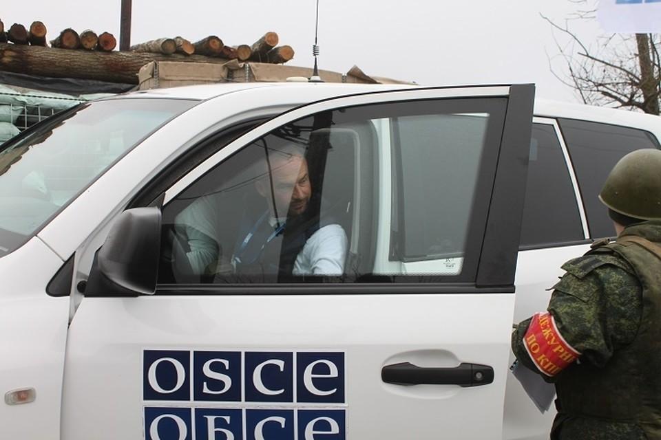 Представители ОБСЕ обязаны зафиксировать нарушения ВСУ