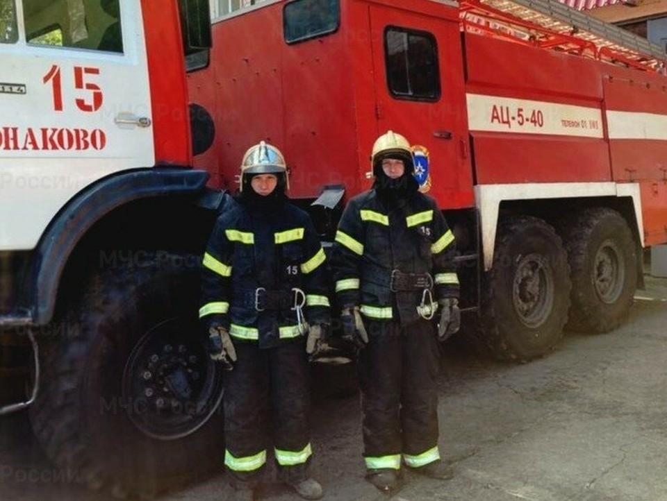 В Тверской области спасатели сняли с дерева детей. Фото: ГУ МЧС по Тверской области