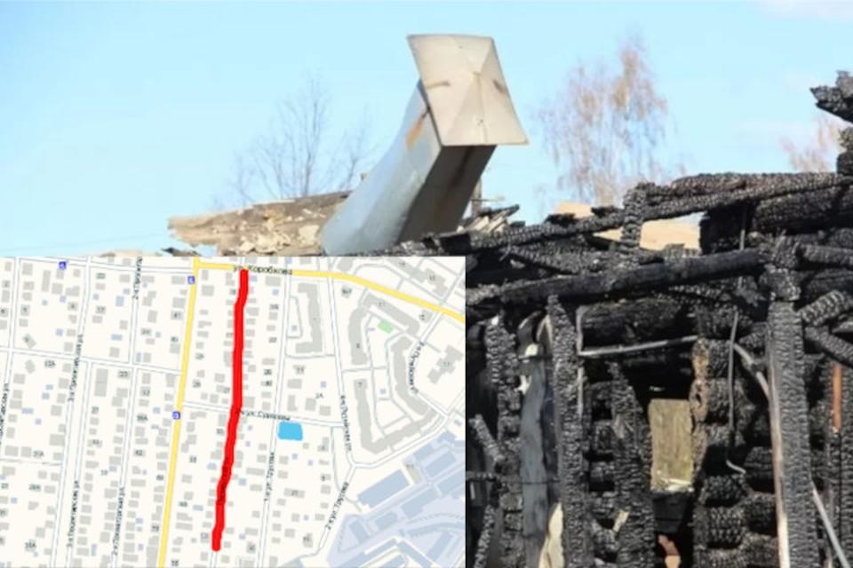 Огонь существенно повредил дом бабушек.