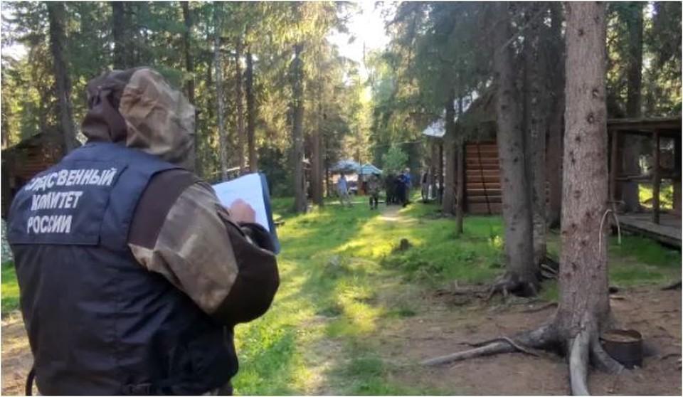 Мальчик провел в тайге две ночи. Фото: скрин видео СКР по Свердловской области