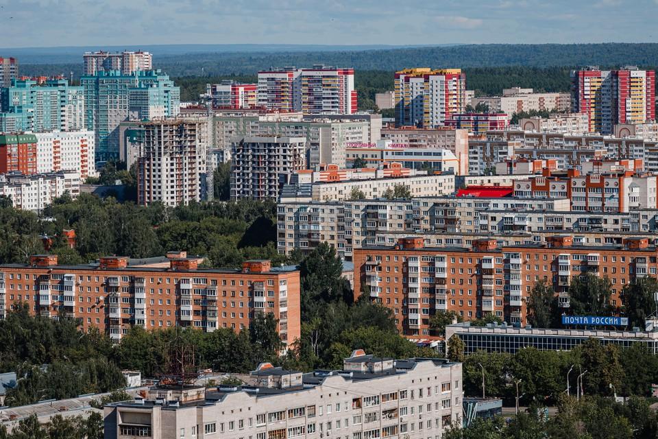 Строительство многоквартирных домов увеличилось в Удмуртии