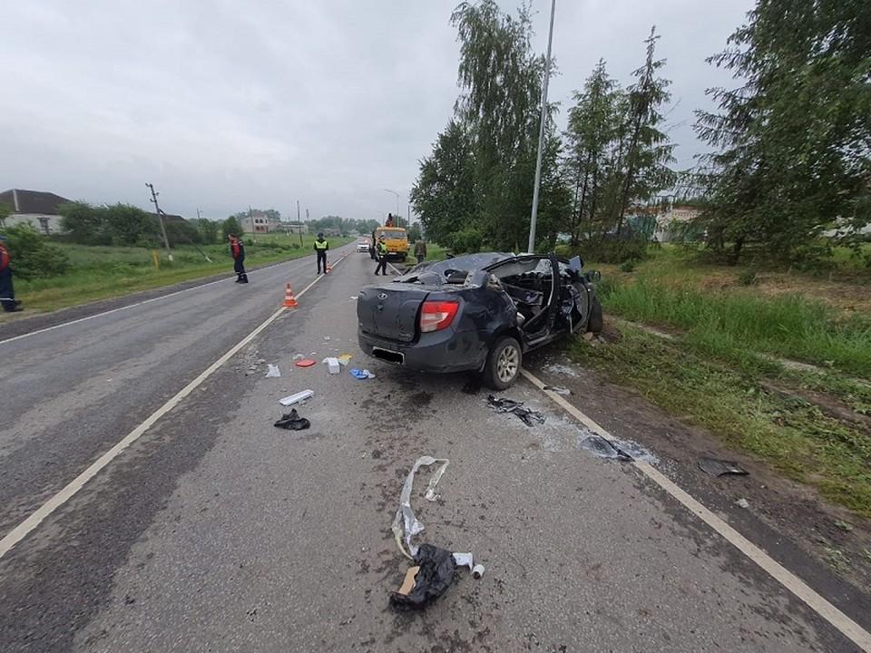 Причиной аварии мог стать сон за рулем после длительной поездки.