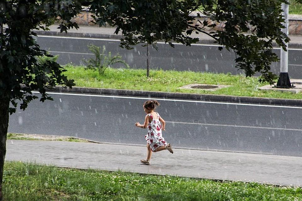Москвичей предупредили о сильных ливнях. Фото: Zuma\TASS