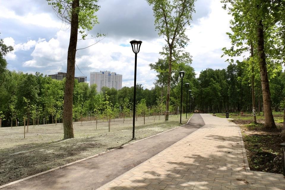 Парк Победы откроют нынешним летом. Фото из официального аккаунта Андрея Клычкова