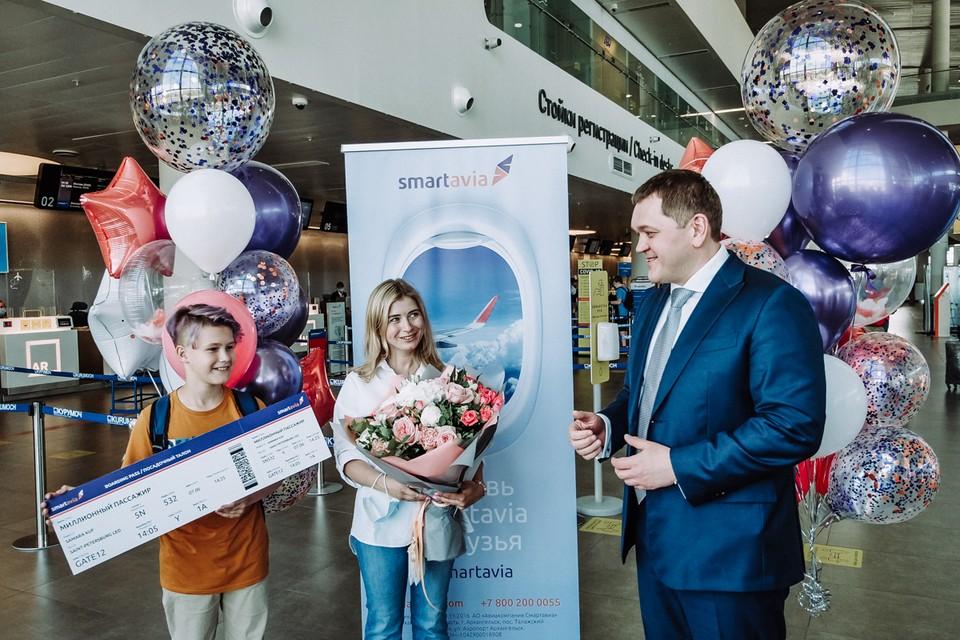 Самарчанка Ирина Ермакова стала миллионным пассажиром