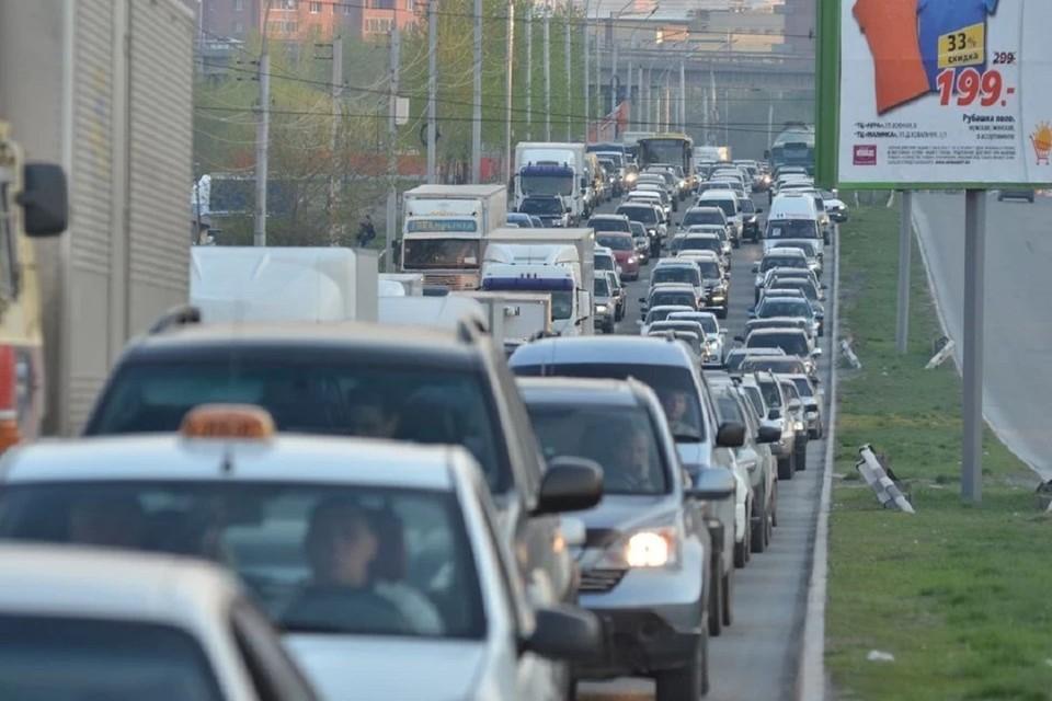 Рассказываем про пробки в Новосибирске на утро 8 июня 2021.