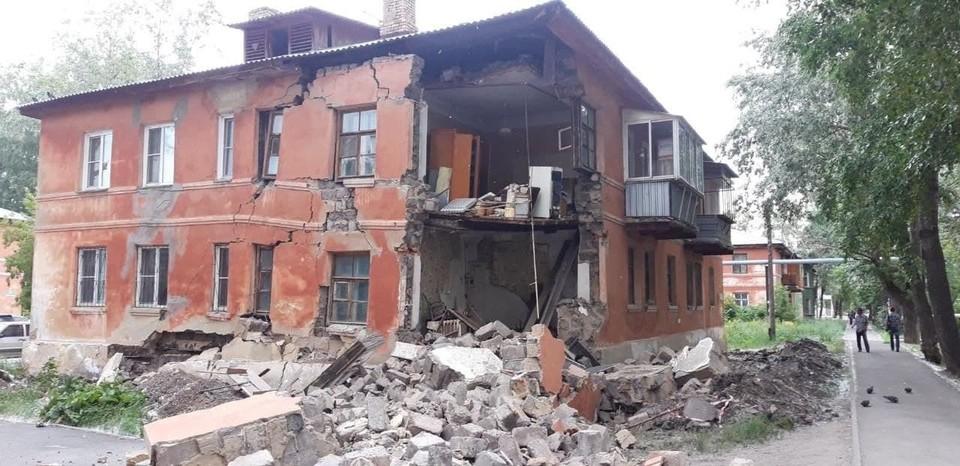 Сегодня будут решать вопрос о сносе дома. Фото: мэрия Челябинска