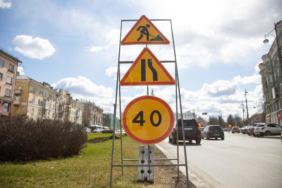 Автомобилистам необходимо планировать пути объезда