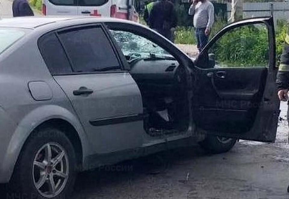 Авария случилась возле дома №19 на Одоевском шоссе