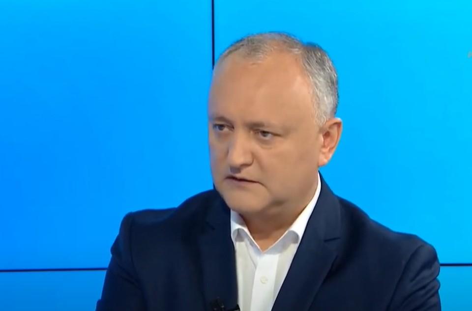Игорь Додон - председатель ПСРМ. Фото:aif.md