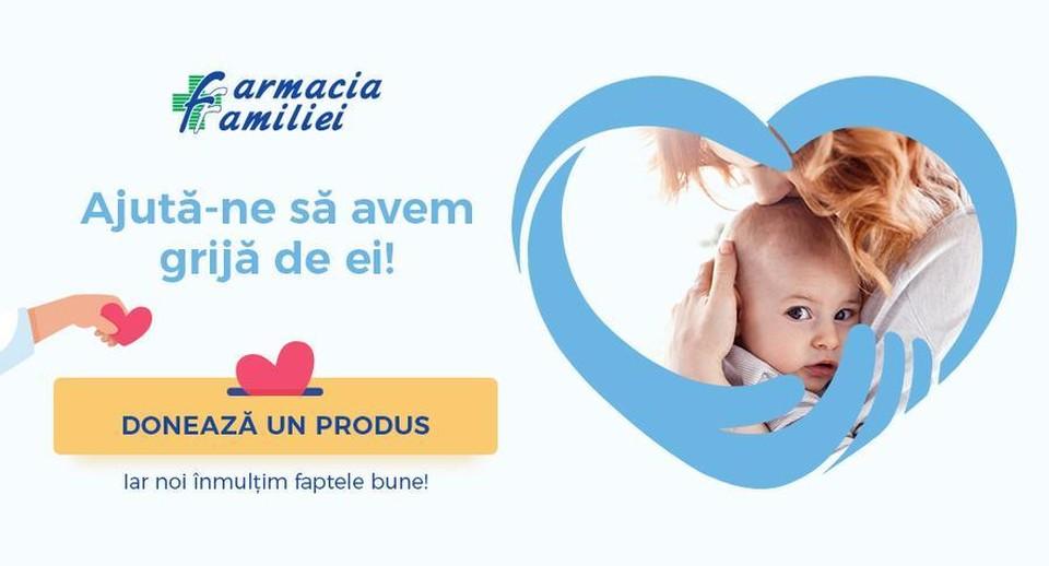 В начале апреля в сети аптек Farmacia Familiei была запущена кампания «Пожертвуй вместе с нами» под девизом «Помогите нам позаботиться о них!