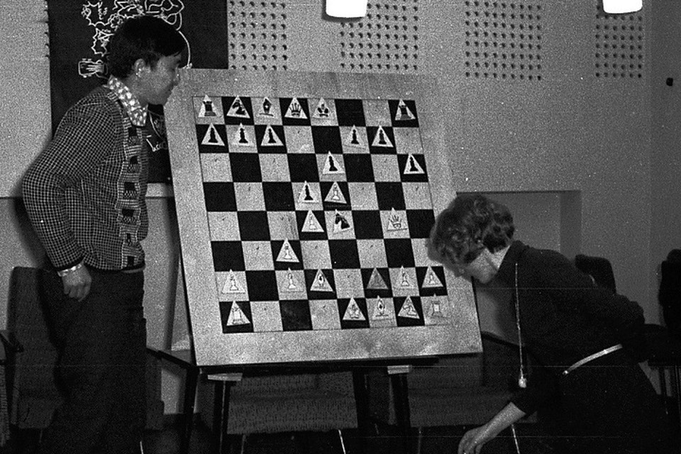 Разбор шахматной партии с чемпионкой мира Нонной Гаприндашвили.