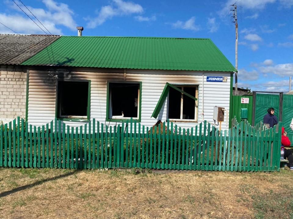 В тюменском селе в пожаре сгорел 90-летний мужчина.