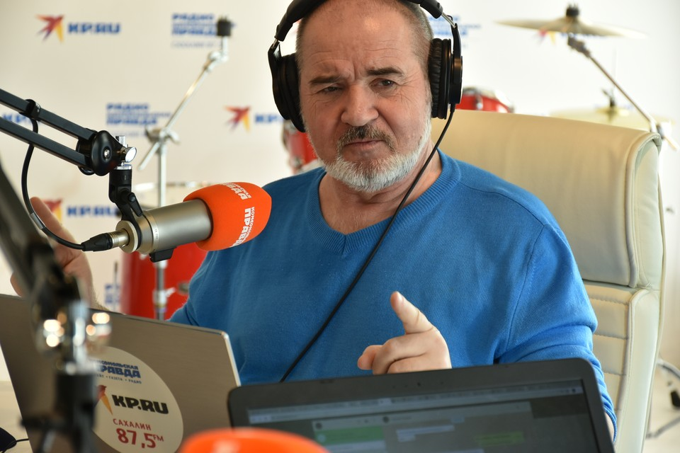 Ведущий радио «КП-Сахалин» Павел Панченко