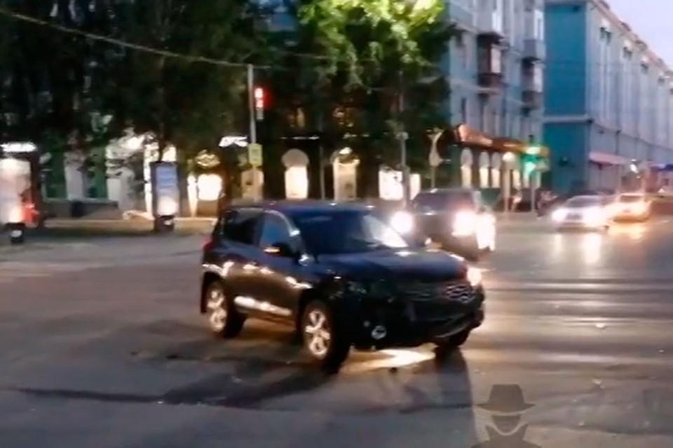 Скриншот видео с vk.com/incident22