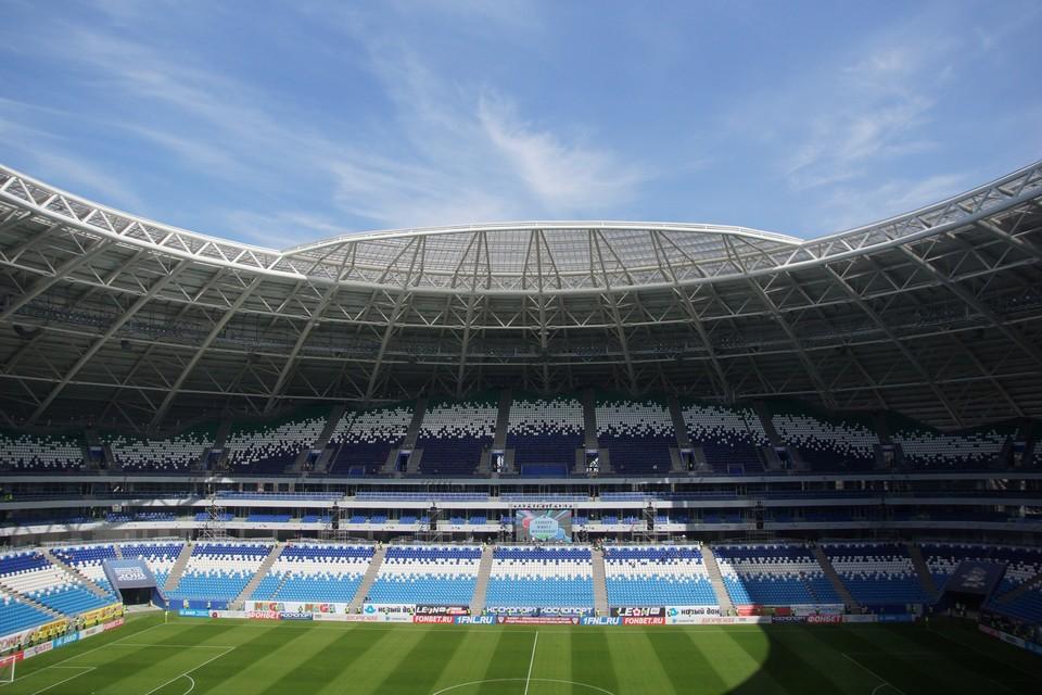 Попасть на стадион можно будет через третий гейт.