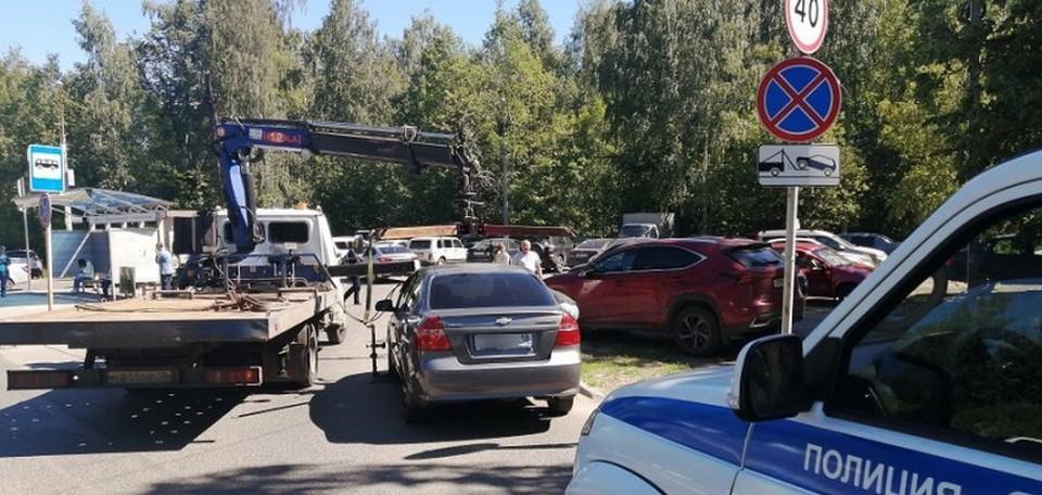 Почти 1000 водителей оштрафовано за нарушения правил парковки Фото: пресс-служба УМВД по Ижевску