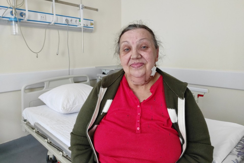 Людмила Станиславовна после операции Фото: ККБ