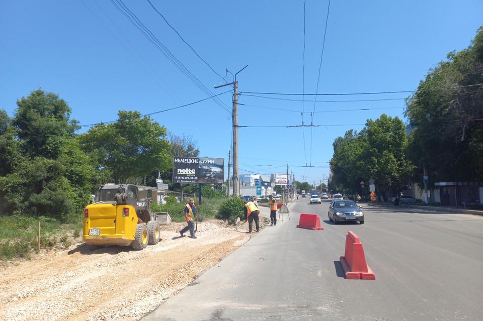 Ремонт улицы Гидрографической входит в нацпроект «Безопасные и качественные дороги»