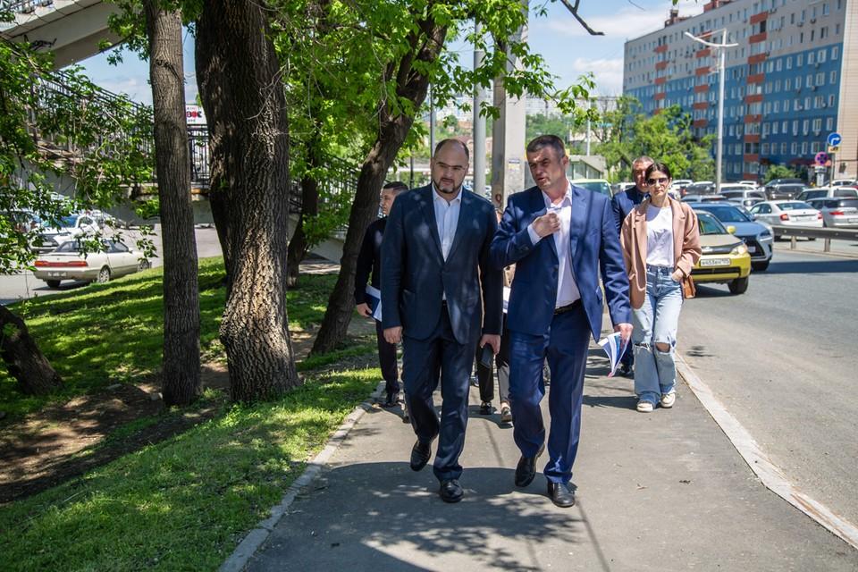 Поставлена задача - уделить пристальное внимание ремонту пешеходных маршрутов. Фото: Анастасия Котлярова