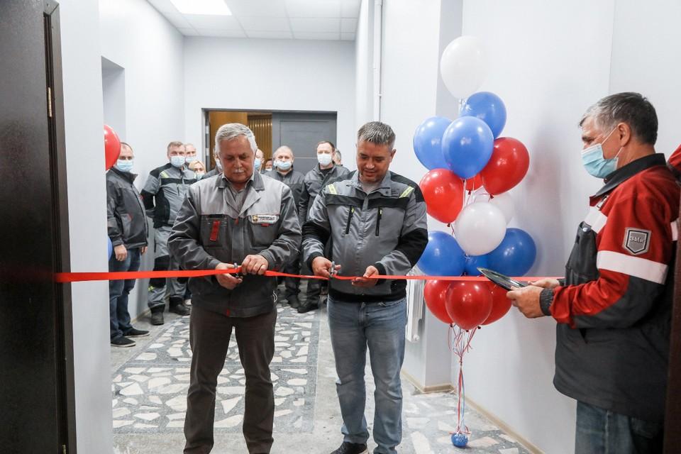 Открытие обновленного спортивного зала