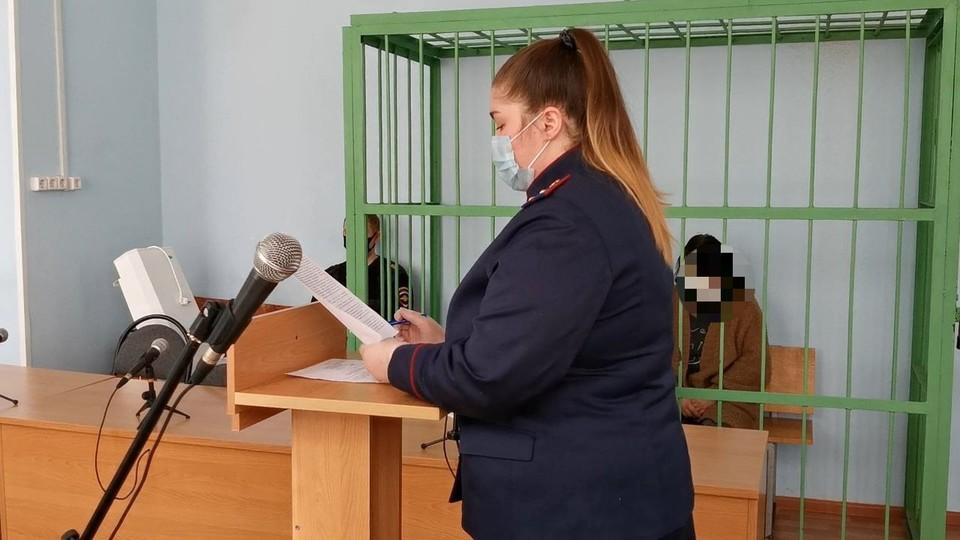 В Кимовске горе-мать признала свою вину в гибели на пожаре двоих детей