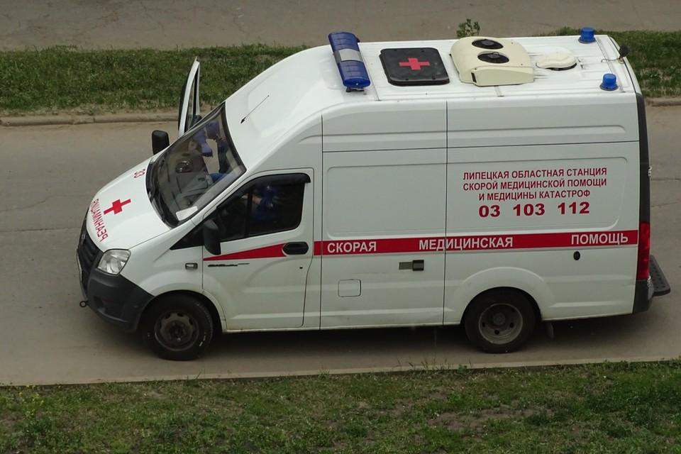 Пострадавшего ребенка в автобусе в Липецке осмотрели медики