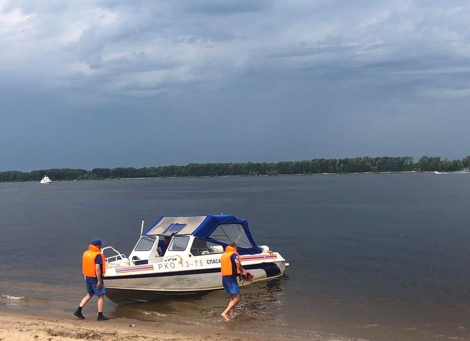 На самарских пляжах оборудуют 14 спасательных постов. Фото - администрация Самары