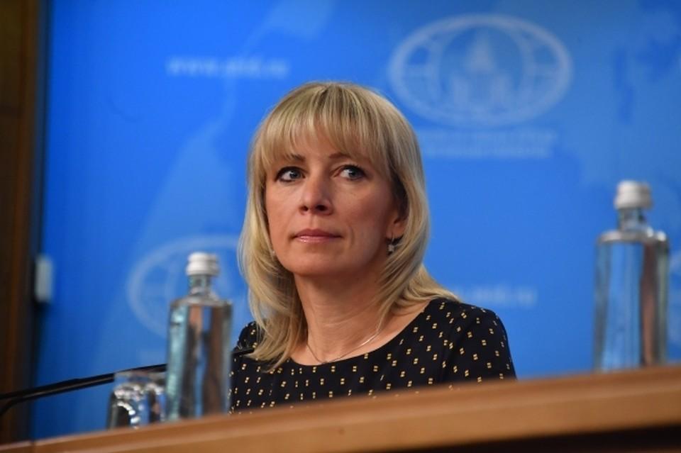 """Мария Захарова ответила на слова Энтони Блинкена о последствиях """"Северного потока – 2"""""""