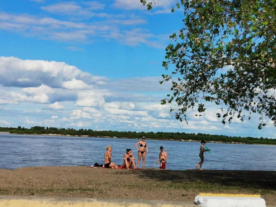 В этом году в Благовещенске открыты восемь пляжей для посещения горожан
