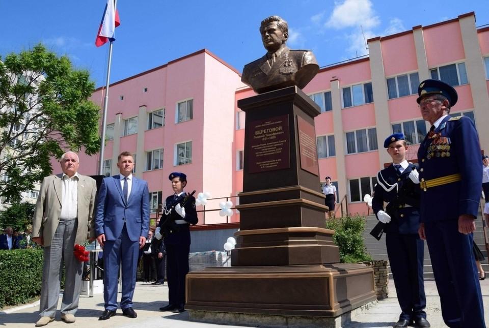 С 1972 по 1987 год Георгий Тимофеевич Береговой был начальником Центра подготовки космонавтов. Фото: администрация города Симферополя.