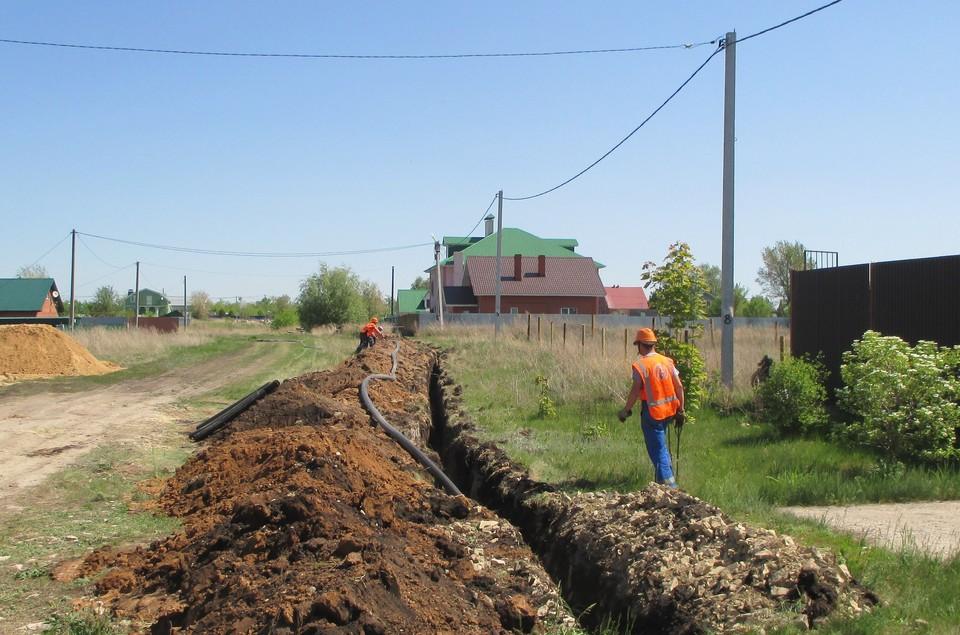 Проводится газификация подворий. Фото: СВГК