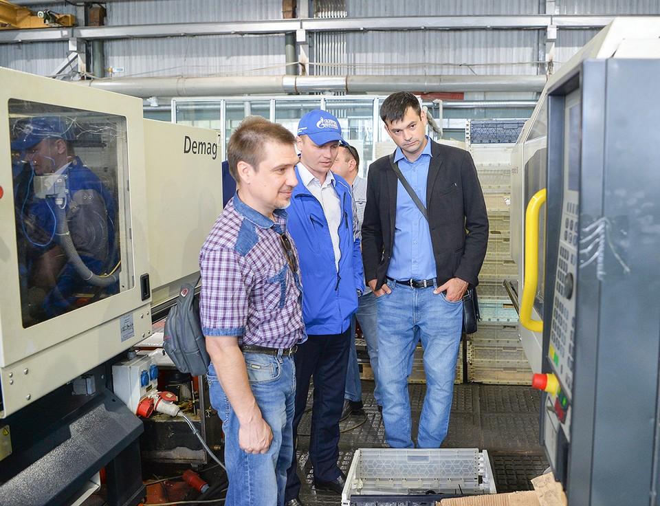 Гости посетили механические и гальванический цеха, складской модуль централизованной складской службы