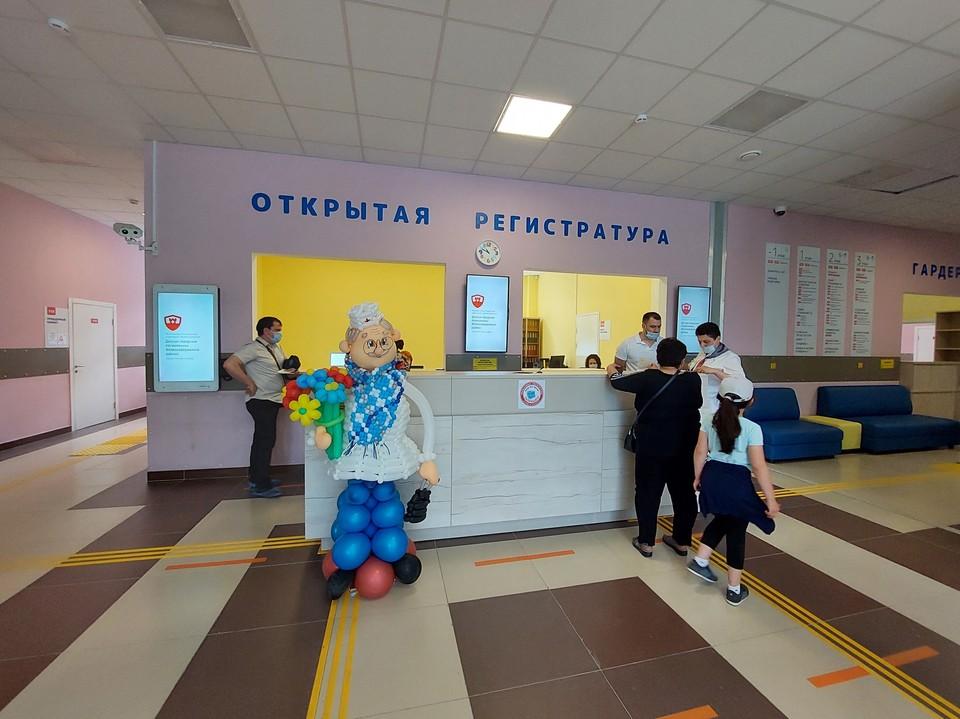 Теперь дети железнодорожного района могут получить медицинскую помощь в одном здании. Фото: ПОПОВА Екатерина.